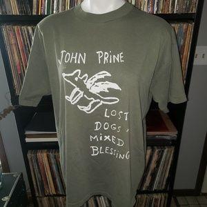 Vintage John Prine concert t shirt